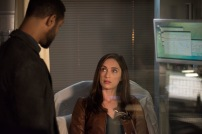 """SHADOWHUNTERS - """"On Infernal Ground"""" - In the season three premiere, secrets abound as the Shadowhunters and Downworlders try to get back to normal after ValentineÕs death. This episode of """"Shadowhunters"""" airs Tuesday, March 20 (8:00 - 9:00 P.M. ET/PT) on Freeform. (Freeform/John Medland) ISAIAH MUSTAFA, ALEXANDRA ORDOLIS"""