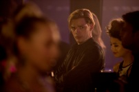 """SHADOWHUNTERS - """"What Lies Beneath"""" - The Shadowhunters try to track down the new imposing threat, while Jace has a suspicion that Jonathan is back and behind the mundane attacks. Simon tries to figure out what The Seelie Queen did to him during his time in the glade. Alec decides to host a Lightwood family dinner at MagnusÕ house after a surprising visit from Maryse. This episode of """"Shadowhunters"""" airs Tuesday, April 3 (8:00 - 9:00 p.m. EDT) on Freeform. (Freeform/John Medland) DOMINIC SHERWOOD"""