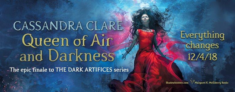 """Képtalálat a következőre: """"Cassandra Clare: Queen of Air and Darkness"""""""